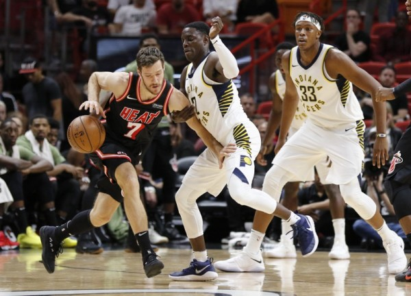 Goran Dragic Miami Heat Indiana Pacers