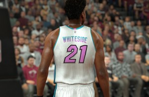 Hassan Whiteside Miami Heat 'City Edition' Jersey