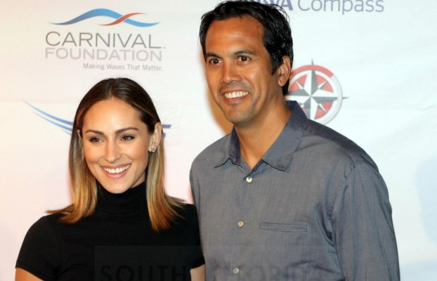 Erik Spoelstra S Wife Shares Personal Photos Sends Adorable Message Amidst Wedding Anniversary Heat Nation