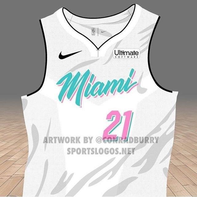 "New Miami Heat ""City Edition"" Uniforms"