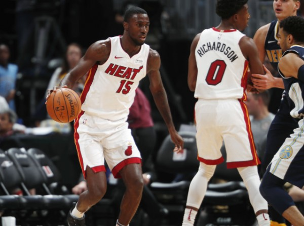 check out b1162 0e58e Miami Heat News: Okaro White Out Indefinitely After ...