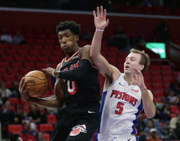 Josh Richardson Miami Heat Detroit Pistons