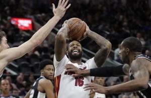 James Johnson Miami Heat Spurs