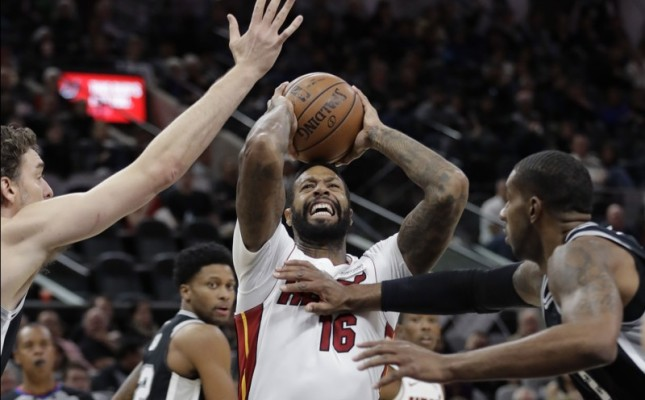 James Johnson Miami Heat Spurs