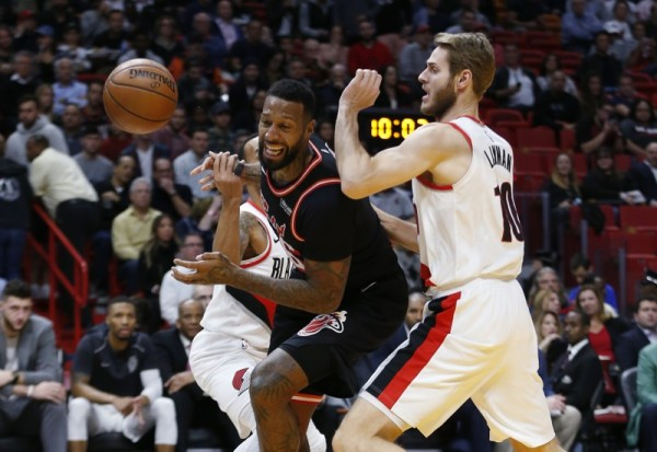 James Johnson vs. Portland Trail Blazers