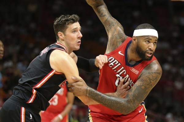 Goran Dragic Miami Heat New Orleans Pelicans