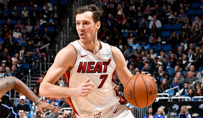 Goran Dragic Miami Heat vs. Orlando Magic