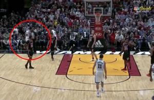 VIDEO: Shaun Livingston Headbutts Referee During Heat-Warriors Game