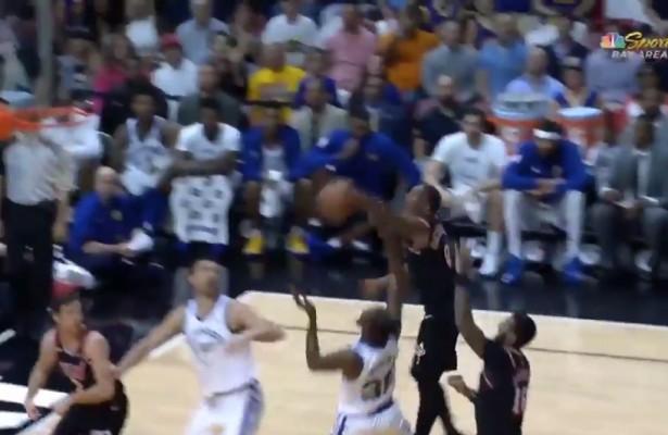 Josh Richardson Blocking Kevin Durant