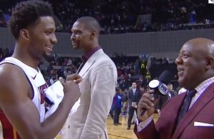 Chris Bosh Video Bomb