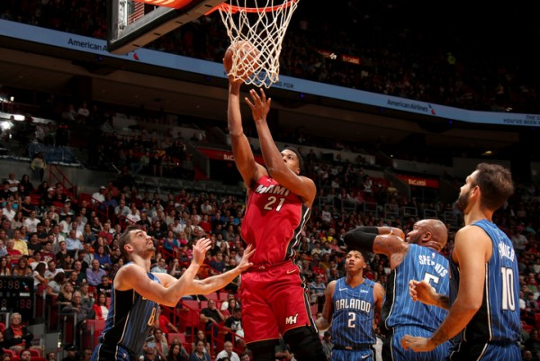 Hassan Whiteside Miami Heat Orlando Magic