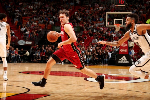 Goran Dragic Miami Heat vs. Brooklyn Nets