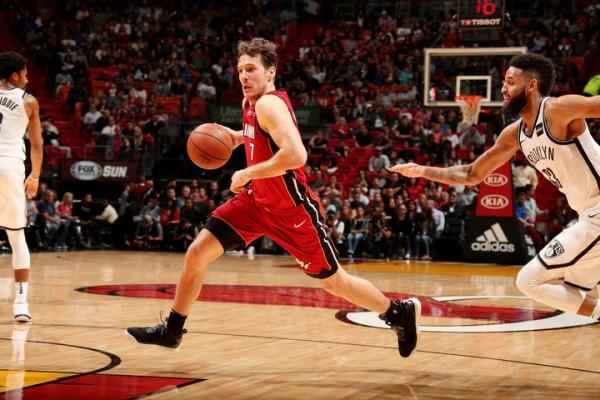 Goran Dragic Miami Heat vs. Brooklyn Nets