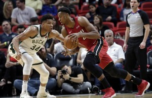 Hassan Whiteside vs. Milwaukee Bucks
