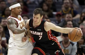Goran Dragic Miami Heat vs. Cavs
