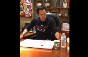 Erik Spoelstra ALS Hot Pepper Challenge