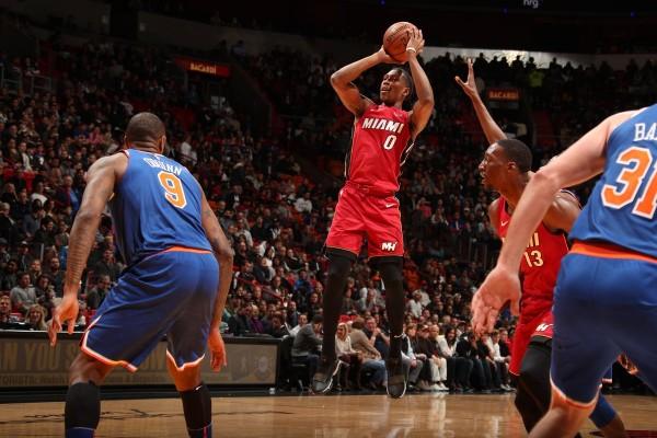 Josh Richardson Miami Heat New York Knicks