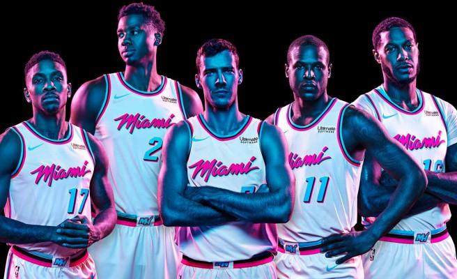 Heat unveil Miami Vice-themed uniforms