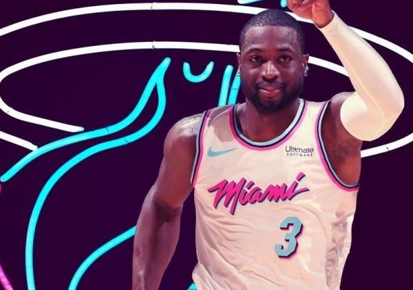 Dwyane Wade Miami Vice Jersey