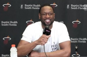 Dwyane Wade's First Press Conference Since Returning to Miami