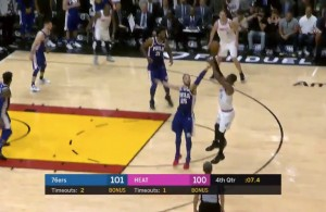 Dwyane Wade Game-Winner vs. 76ers