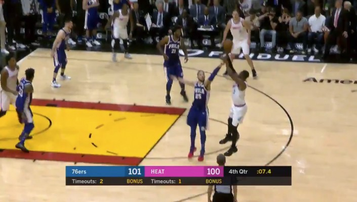 Dwyane Wade Game-Winner vs. 76ers