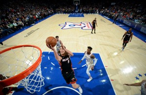 Kelly Olynyk Miami Heat vs. 76ers