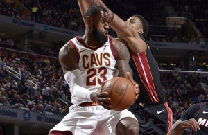 LeBron James Cavs Miami Heat