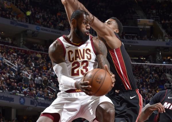 LeBron James Cavs Miami Heat
