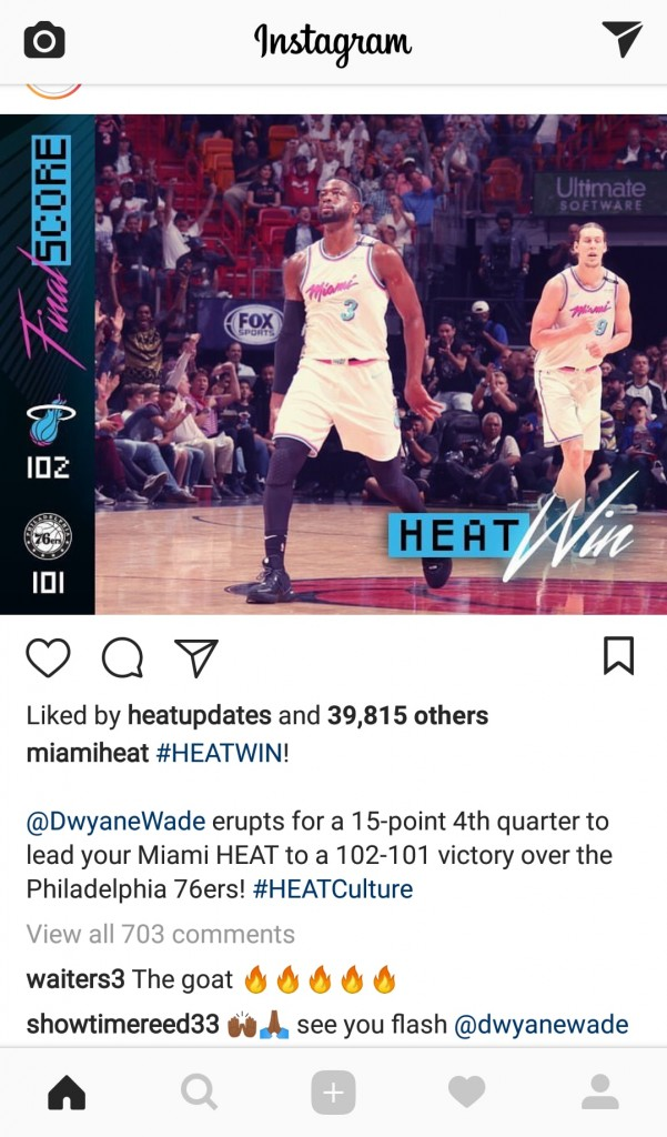 Dion Waiters' Epic Reaction to Dwyane Wade's Game-Winner