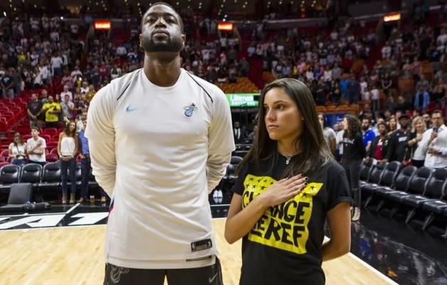 Joaquin Oliver's Sister and Dwyane Wade