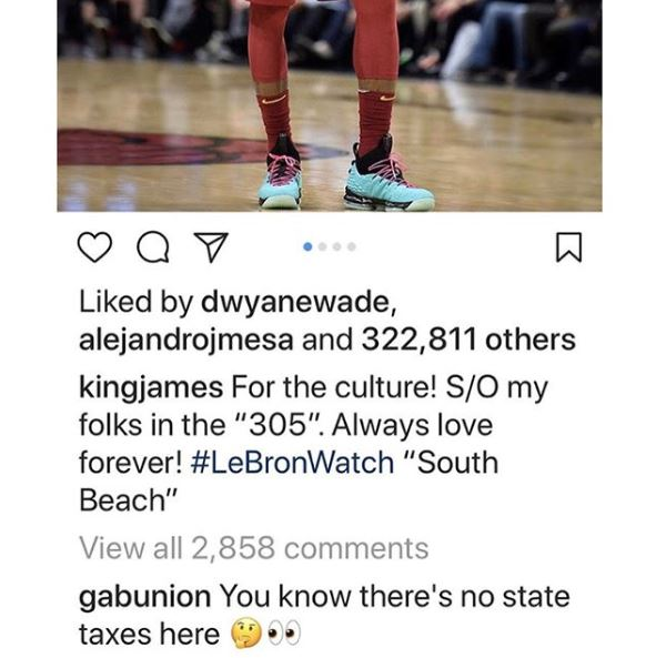 Gabrielle Union Recruiting LeBron James
