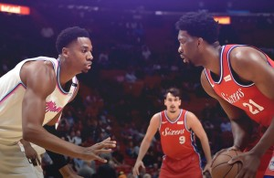 Hassan Whiteside vs. Joel Embiid Heat vs. 76ers