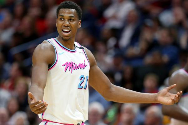 Heat center Hassan Whiteside says his limited playing time is 'bullshit'