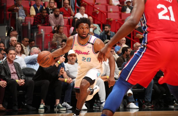 Justise Winslow Heat vs. 76ers
