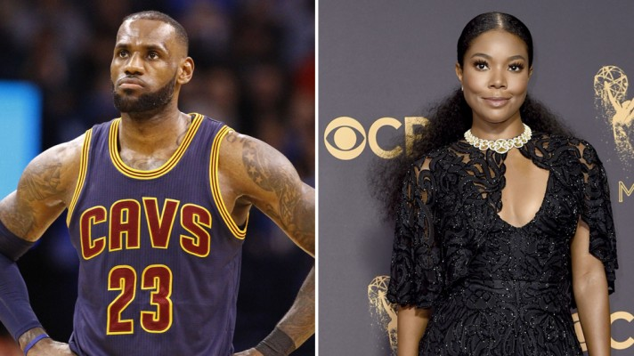 LeBron James and Gabrielle Union