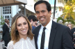 Nikki Sapp and Erik Spoelstra