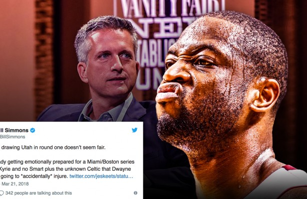 Bill Simmons and Dwyane Wade