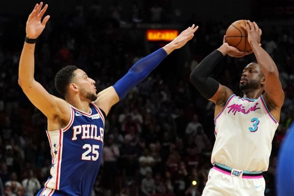 Sixers Embiid won't play in Game 2 against Heat