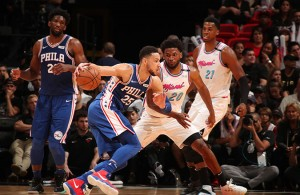 Ben Simmons Justise Winslow 76ers Heat