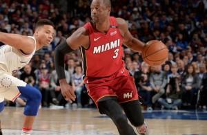 Dwyane Wade vs. Philadelphia 76ers
