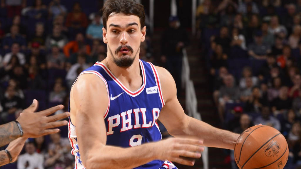 Dario Saric Philadelphia 76ers