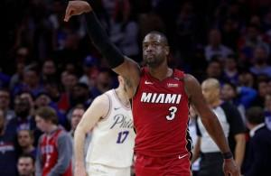 Dwyane Wade Miami Heat 76ers