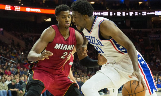 Hassan Whiteside vs. Joel Embiid