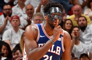 Joel Embiid Mask Philadelphia 76ers