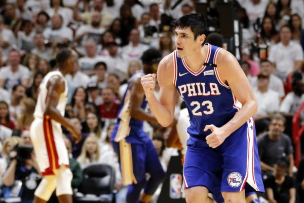 Sixers Forward Ersan Ilyasova Says Games in Miami Were 'Half Empty'