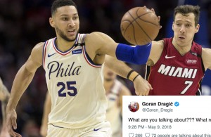 Ben Simmons and Goran Dragic