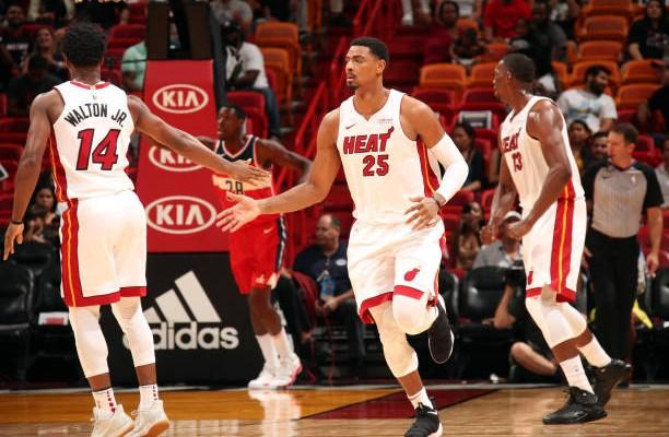 Jordan Mickey Miami Heat