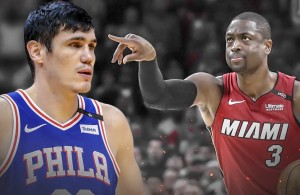 Ersan Ilyasova and Dwyane Wade