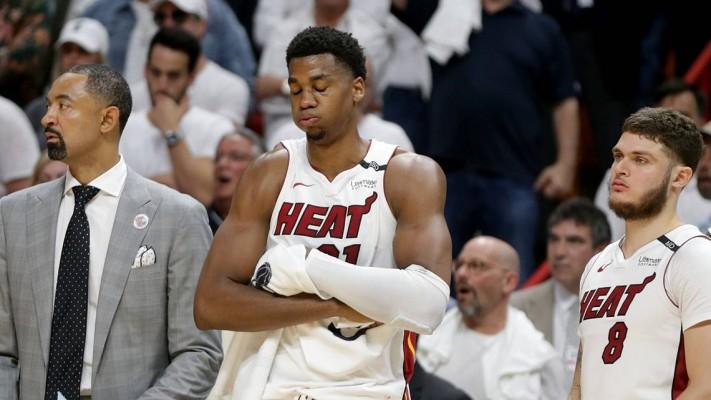 Hassan Whiteside Mad Miami Heat